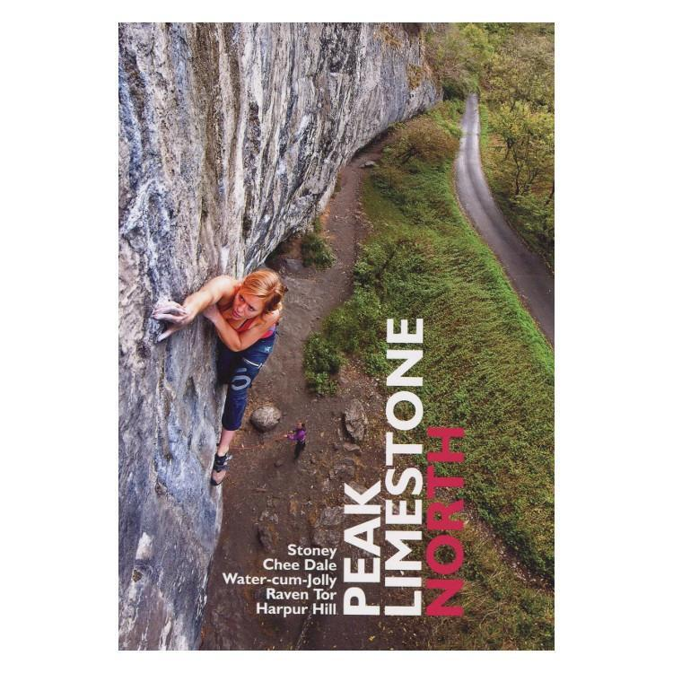 Peak Limestone North climbing guidebook, front cover