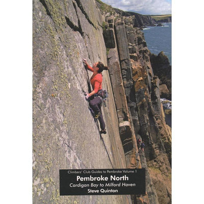 Pembroke Volume 1 Cardigan Bay to Milford Haven climbing guidebook, front cover