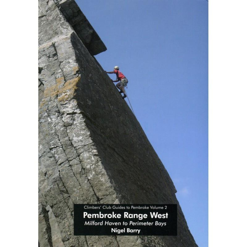 Pembroke Volume 2 Range West climbing guidebook, front cover