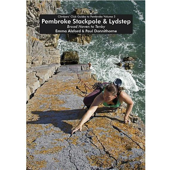 Pembroke Volume 5 Stackpole and Lydstep climbing guidebook, front cover