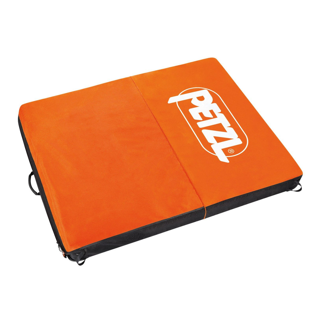 Petzl Cirro bouldering crash pad, shown open and laid flat