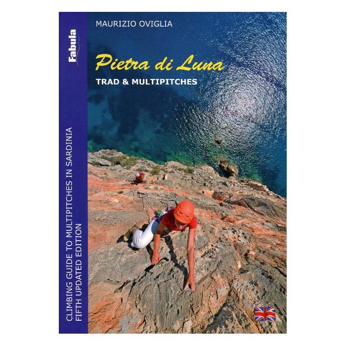 Pietra Di Luna: Trad & Multi Pitch climbing guidebook, front cover