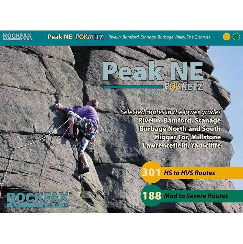 Peak NE Pokketz climbing guidebook, front cover