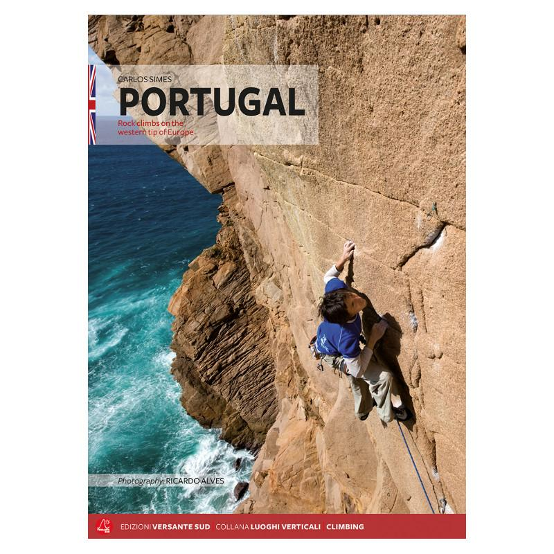 Portugal Rock Climbs climbing guidebook, front cover