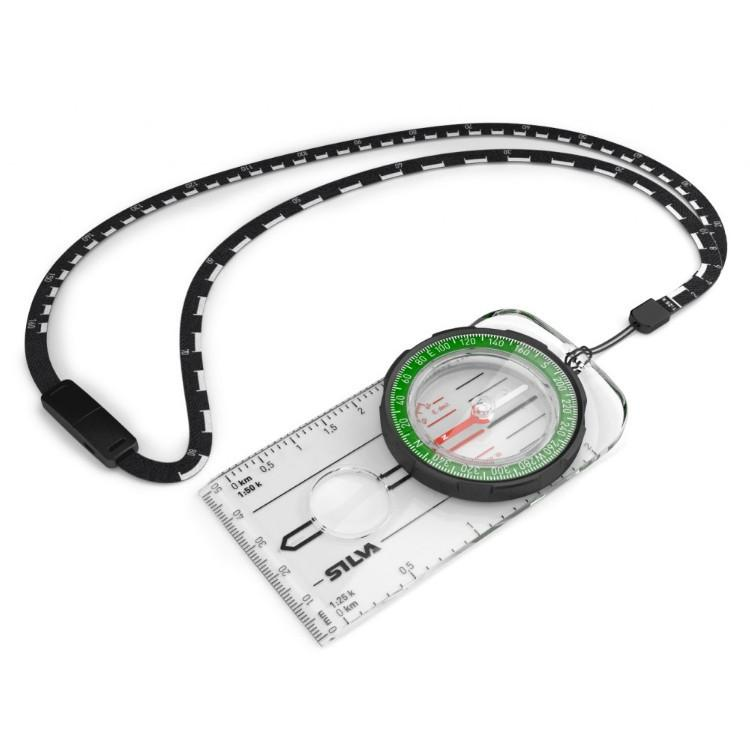 Silva Ranger Compass, shown with lanyard