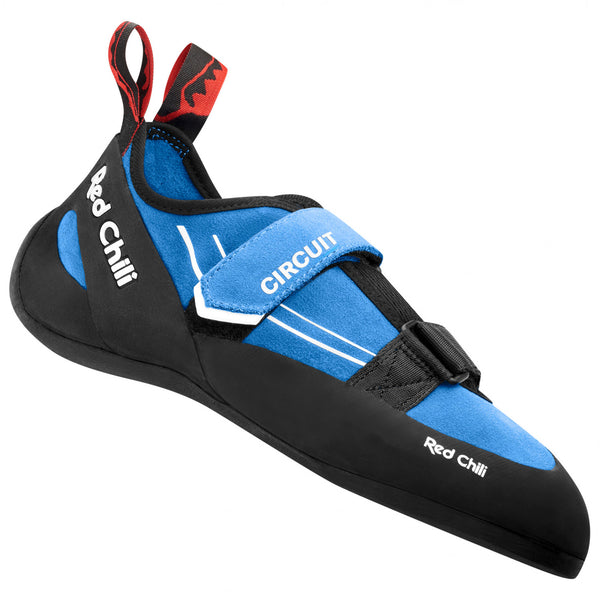 red chili climbing shoes