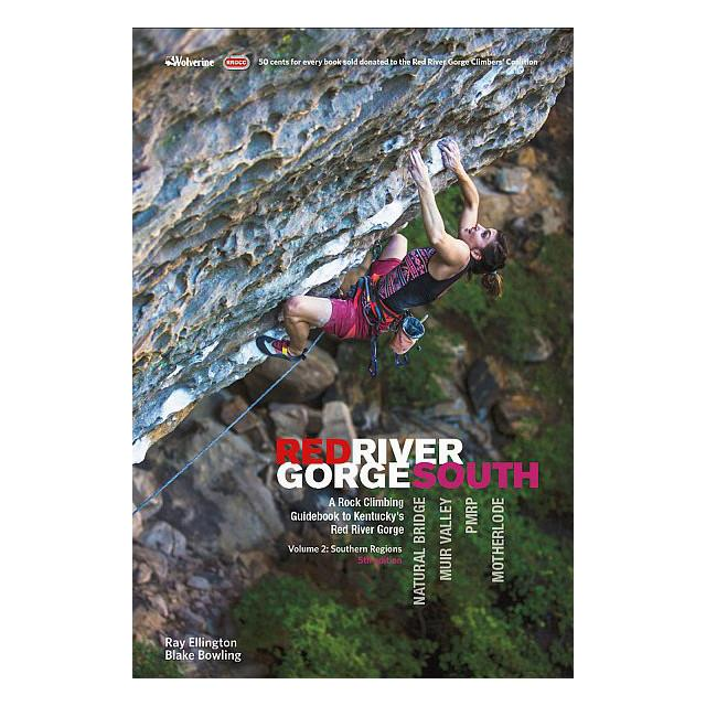 Red River Gorge: South climbing guidebook, front cover