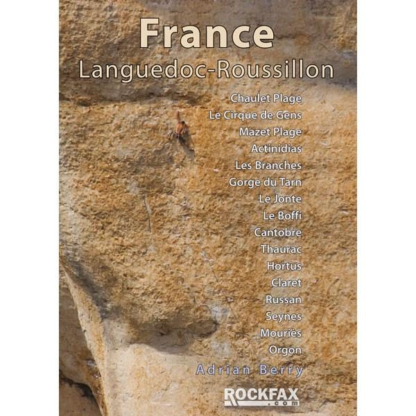 France: Languedoc-Roussillon climbing guidebook, front cover