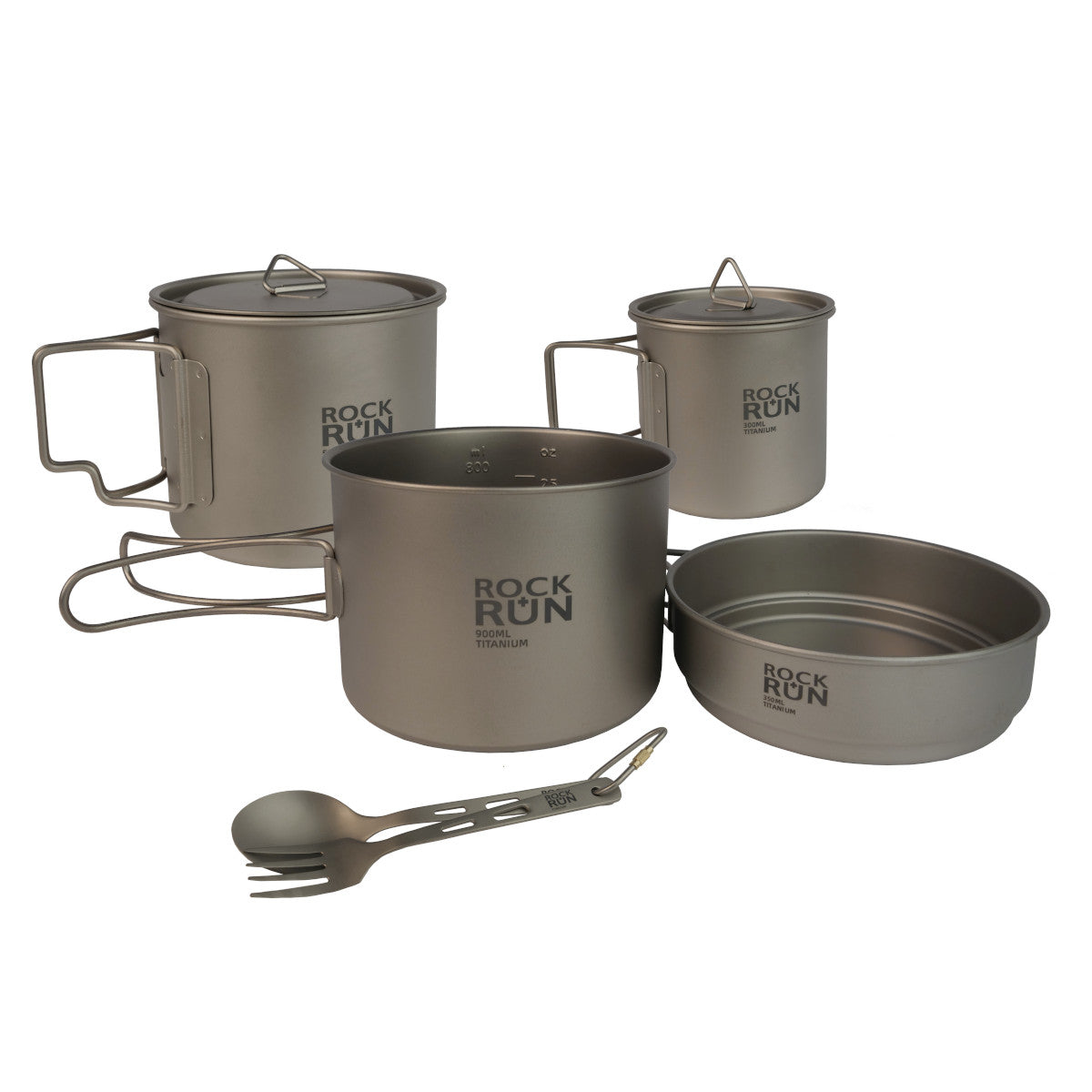 Rock + Run Titanium Cookware Set
