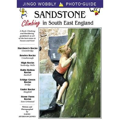 Sandstone in South East England climbing guidebook, front cover