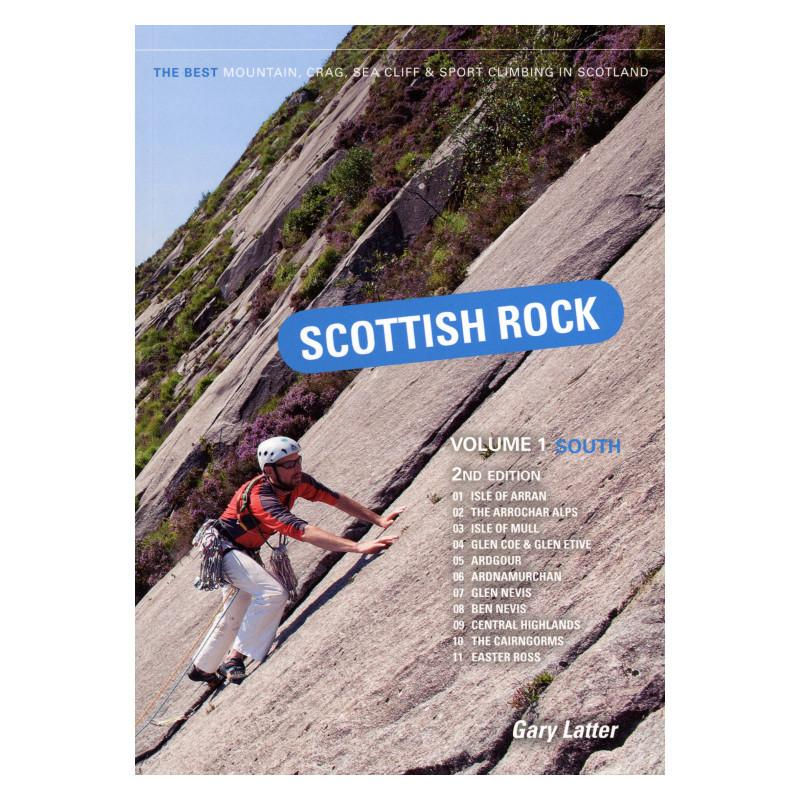 Scottish Rock Volume 1 climbing guidebook, front cover