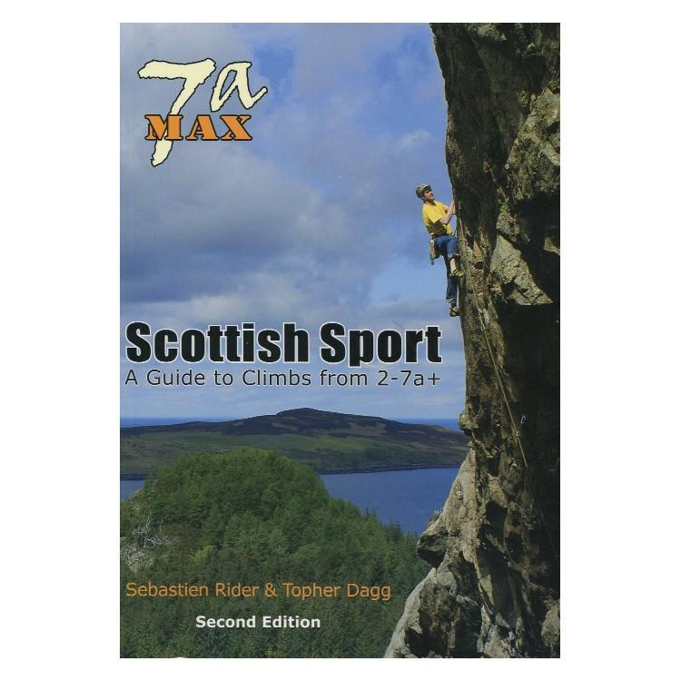 7a Max: Scottish Sport climbing guide, front cover