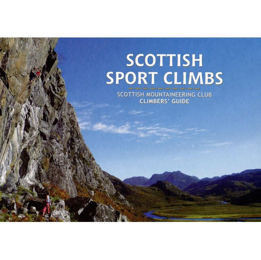 Scottish Sport Climbs climbing guidebook, front cover