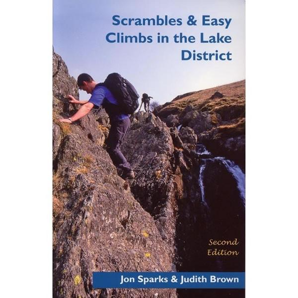 Scrambles and Easy Climbs in the Lake District guidebook, front cover