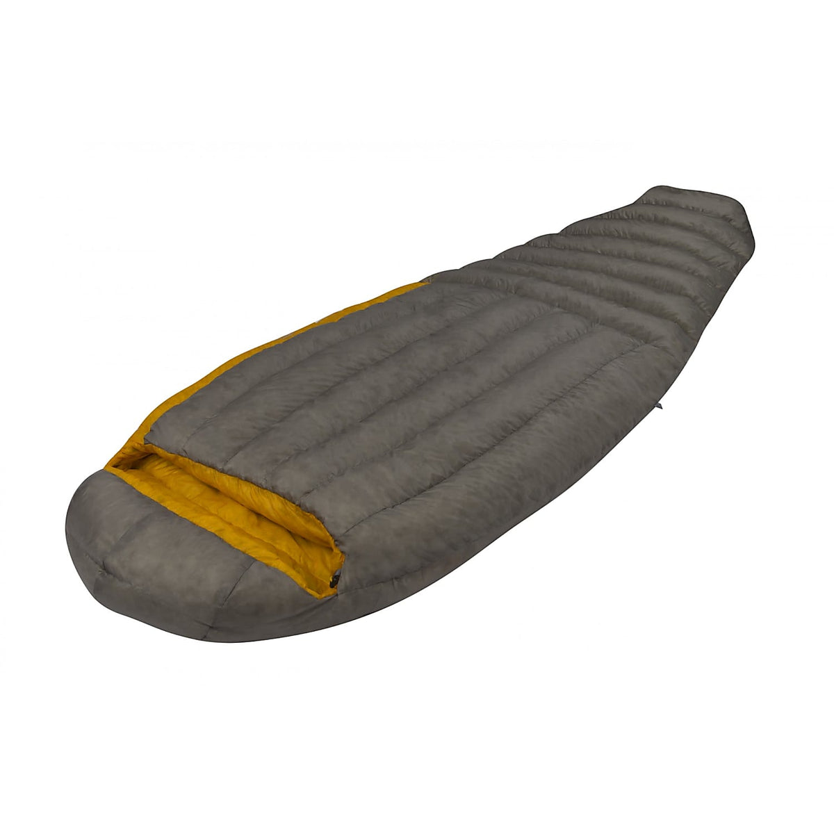 Sea to Summit Spark II sleeping bag side view shown fully closed
