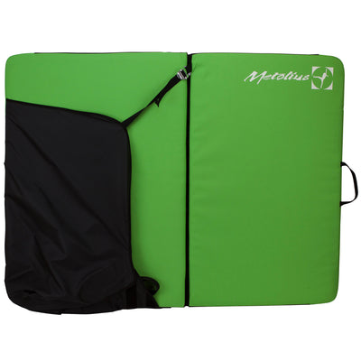 Metolius Session II crash pad, shown stood up and open