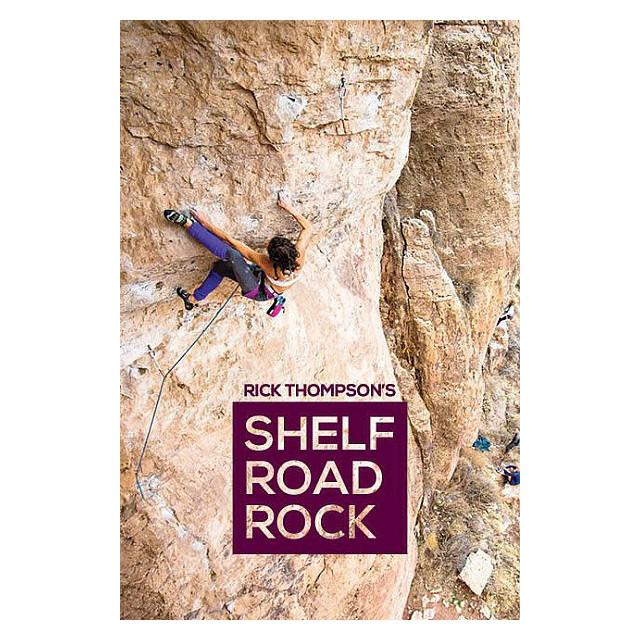 Shelf Road Rock climbing guidebook, front cover