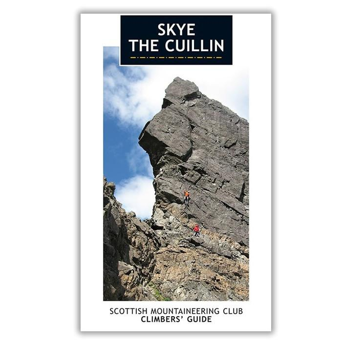 Skye The Cullin climbing guidebook, front cover