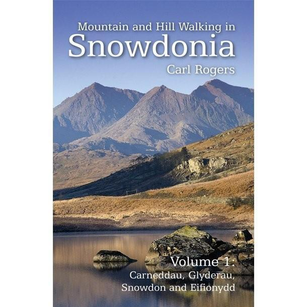 Mountain and Hill Walking in Snowdonia Vol 1 guidebook, front cover
