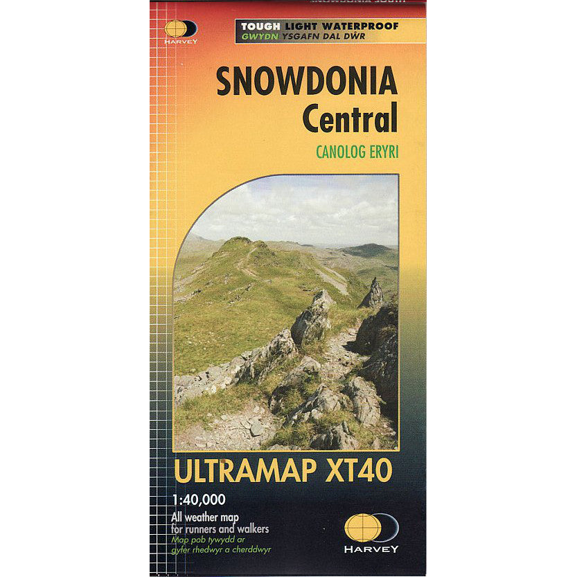Harvey Maps Snowdonia Central
