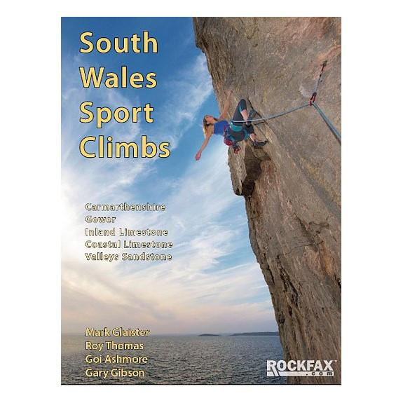 South Wales Sport Climbs Rockfax climbing guidebook, front cover