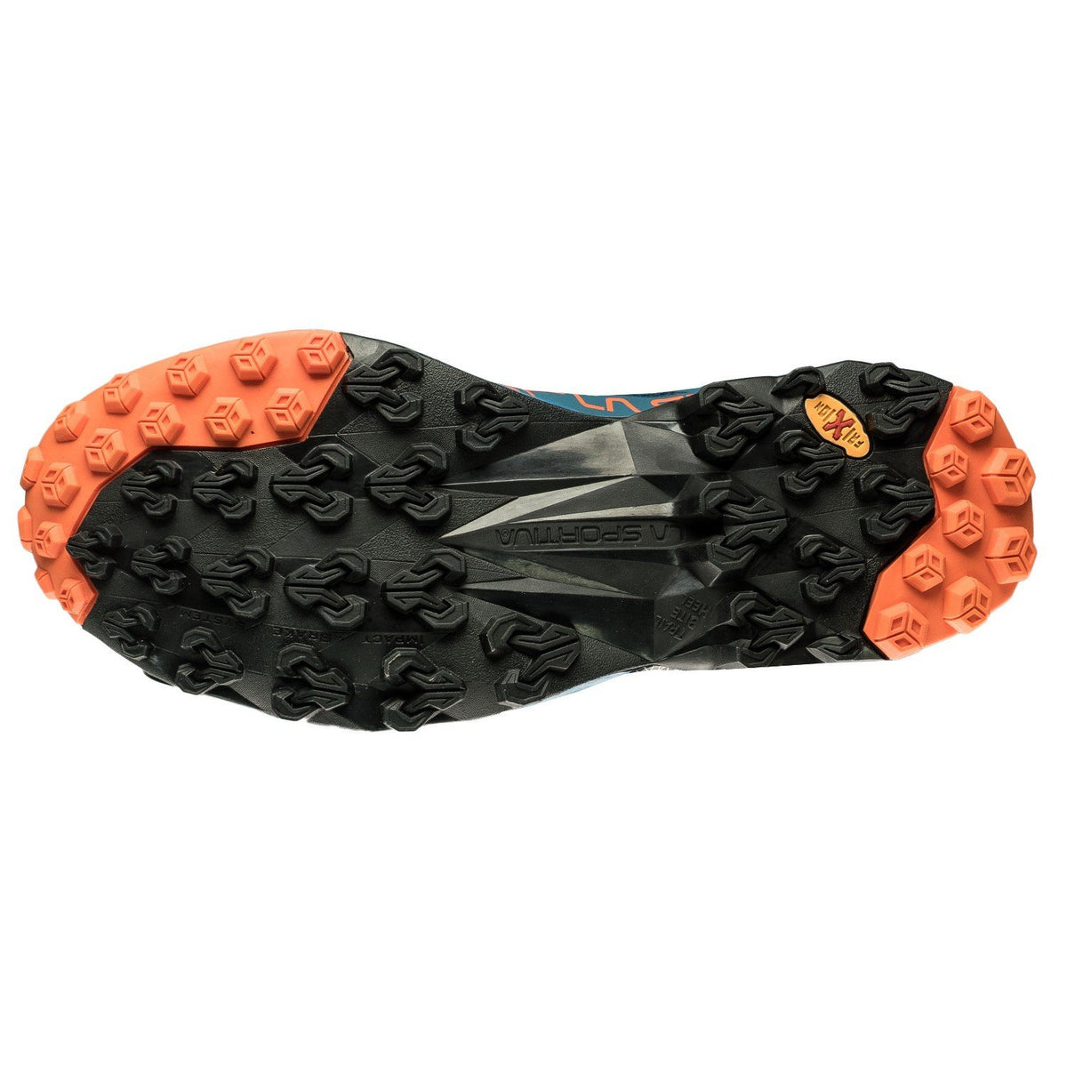 La Sportiva Akyra running shoe, view of the sole