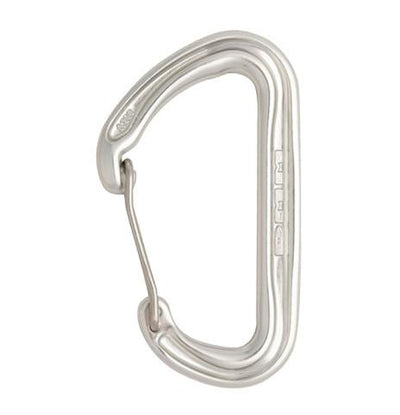 DMM Spectre 2 carabiner, in silver colour