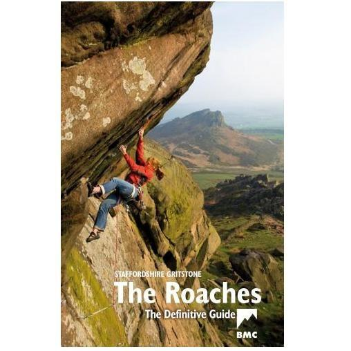 Staffordshire Grit The Roaches climbing guidebook, front cover