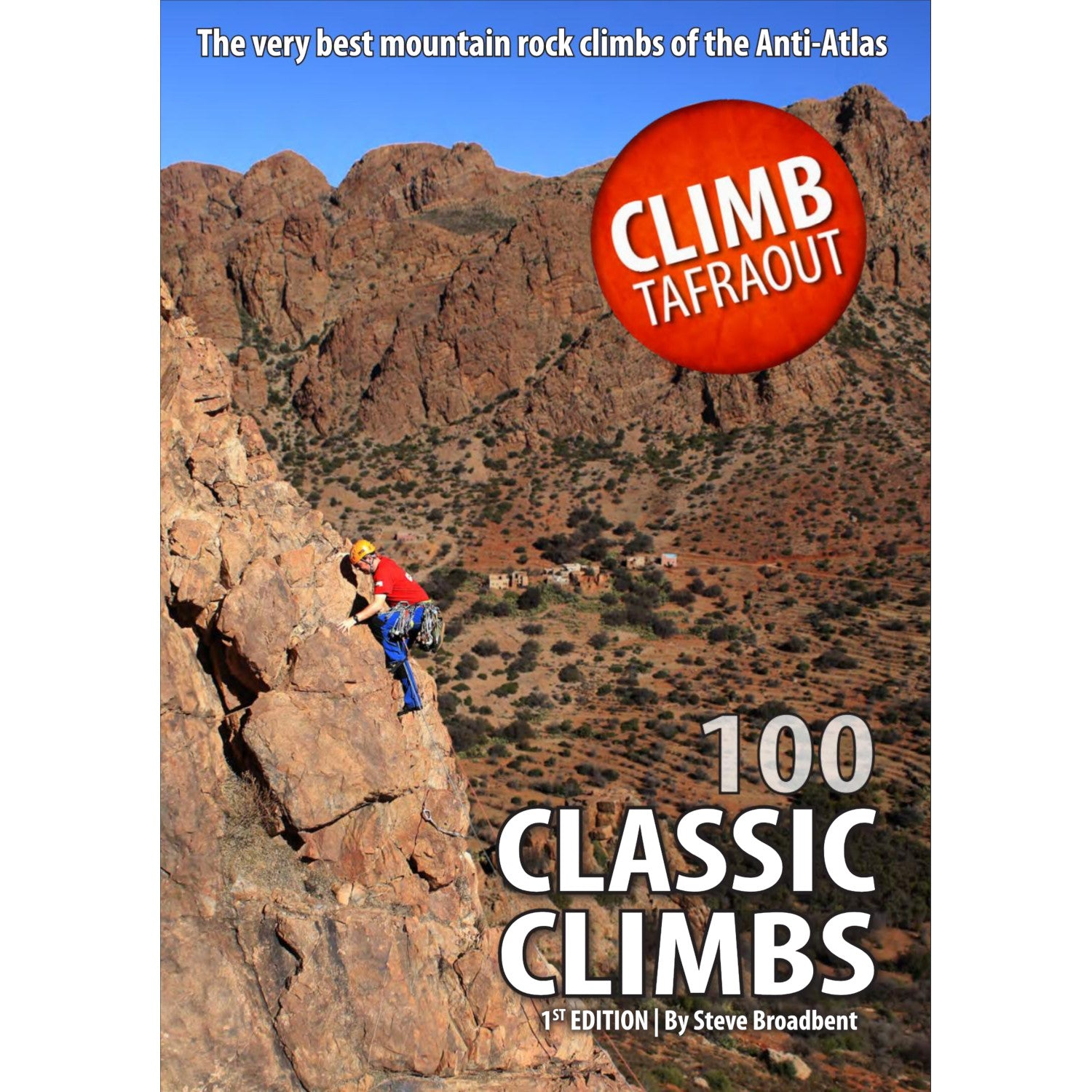 Climb Tafraout (100 Classic Climbs) climbing guidebook, showing the front cover