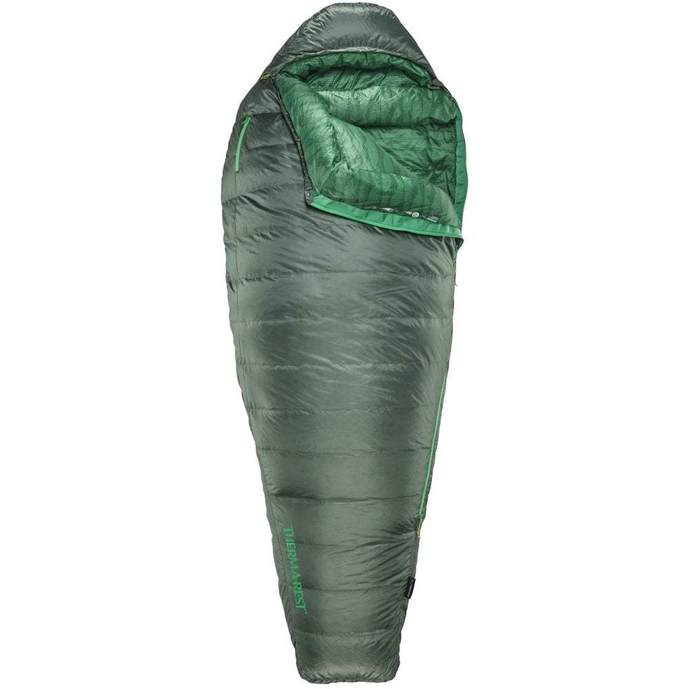 Thermarest Questar 32F/0C sleeping bag in dark green