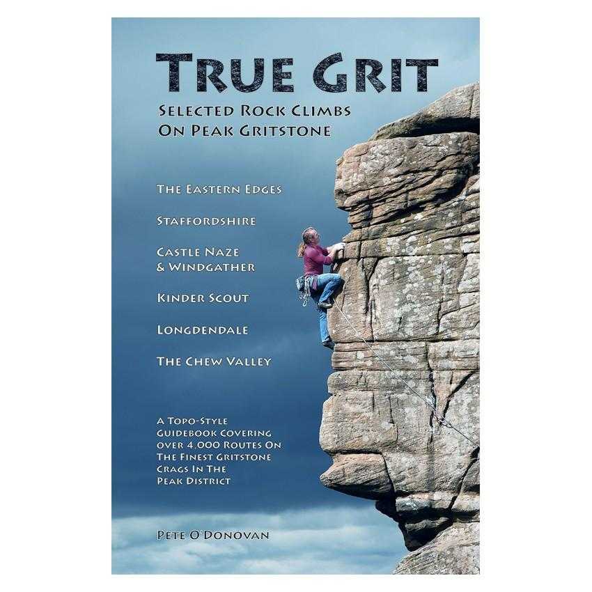 True Grit: Selected Climbs on Peak Grit guidebook, front cover