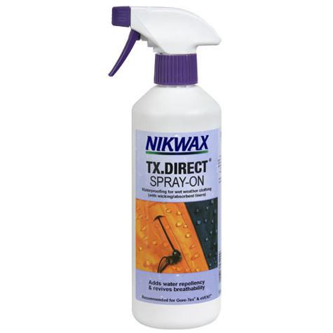 Nikwax TX Direct Spray-On 300ml clothing waterproofing