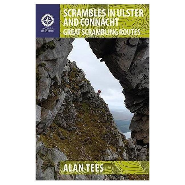 Scrambles in Ulster and Connacht guidebook, front cover