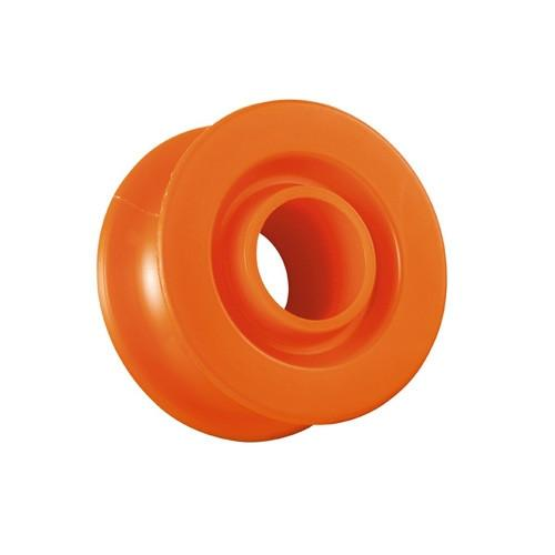 Petzl Ultralegere Pulley Wheel, in orange colour