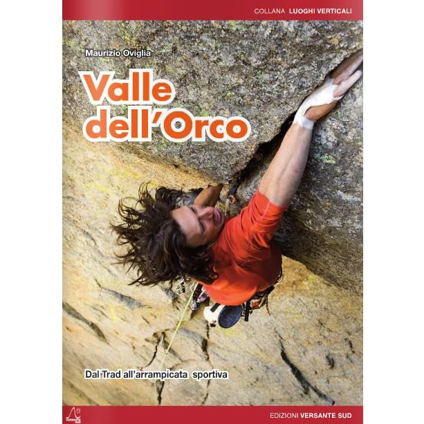 Valle dell'Orco climbing guidebook, front cover