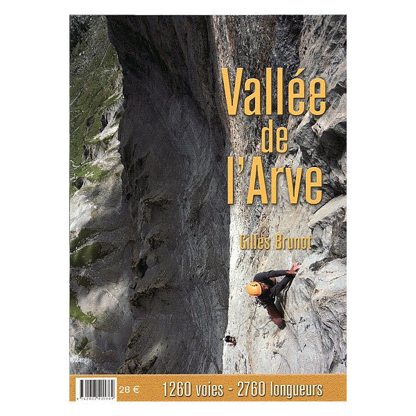 Vallee de l'Arve climbing guidebook, front cover