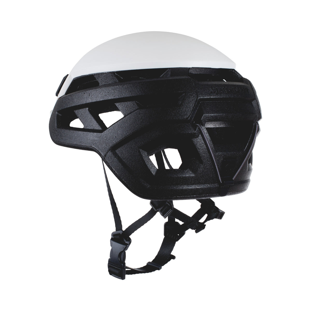 Mammut Wall Rider climbing helmet, outer side view
