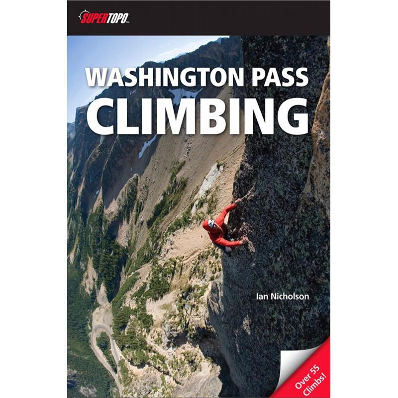 Washington Pass Climbing guidebook, front cover