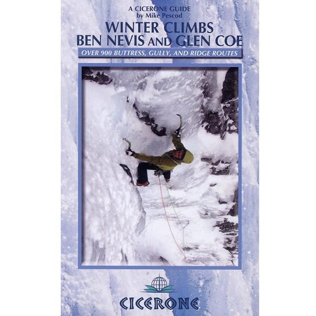 Winter Climbs Ben Nevis - Glen Coe guidebook, front cover