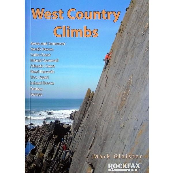 West Country Climbs climbing guidebook, front cover