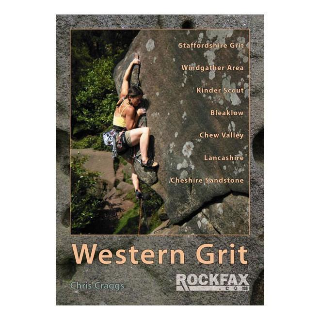 Western Grit climbing guidebook, front cover