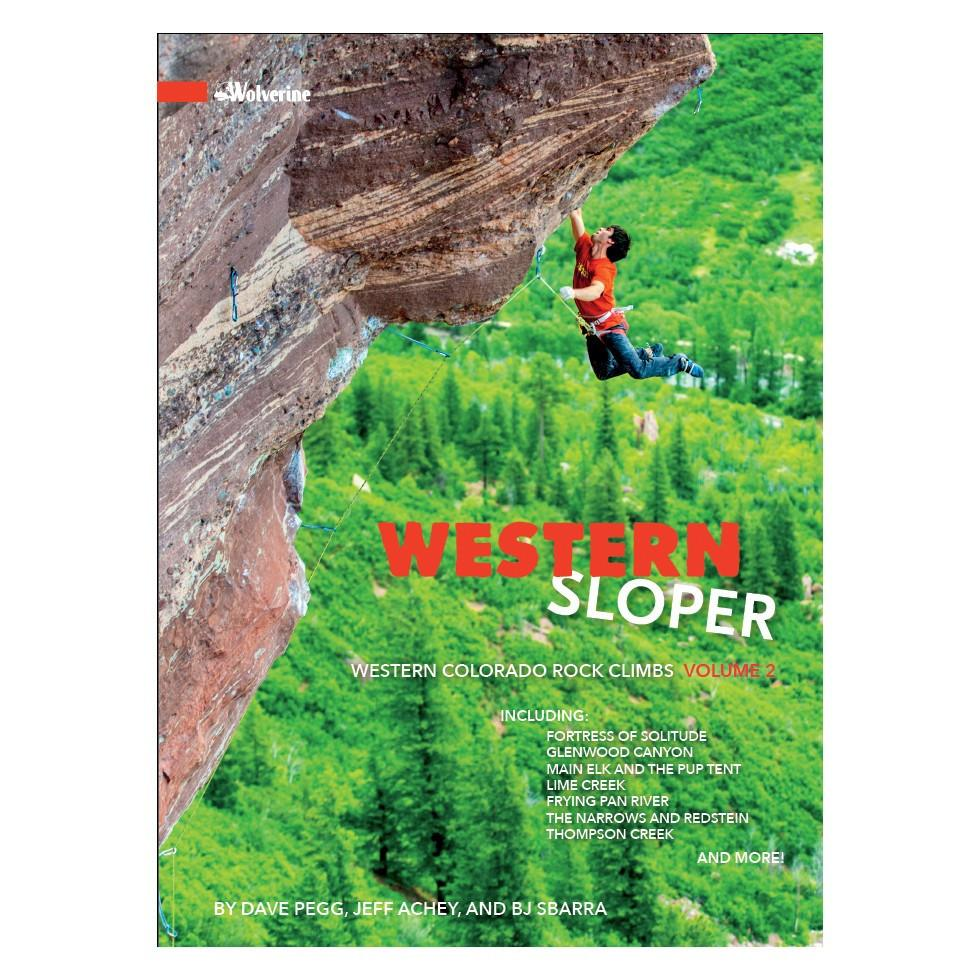 Western Sloper: Colorado Rock Climbs Vol 2 guidebook, front cover