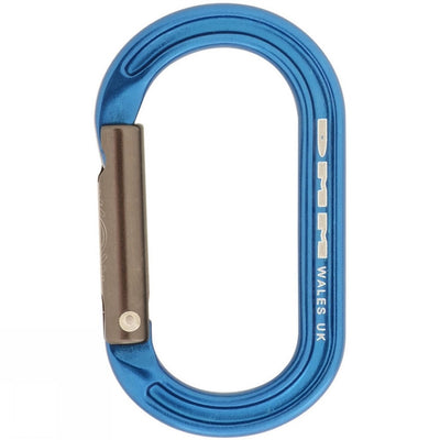 DMM XSRE (accessory) carabiner in blue colour