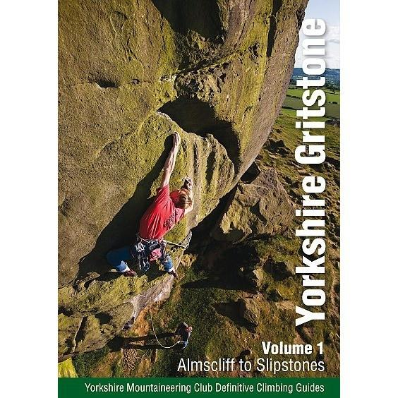 Yorkshire Gritstone Volume 1 (YMC) climbing guidebook, front cover