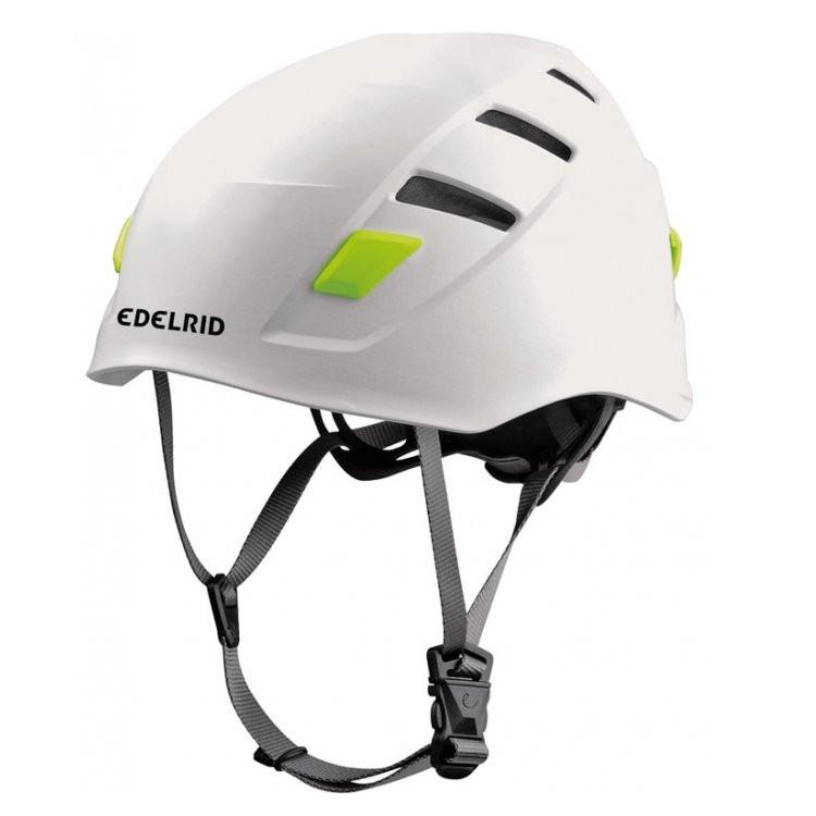 Edelrid Zodiac climbing helmet, in white colour