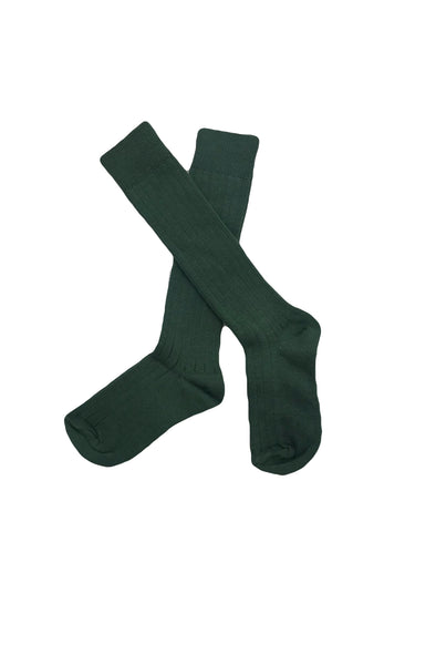 KNEE HIGH SOCKS- SAGE GREEN