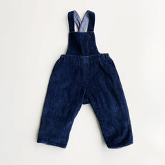 Vintage chunky cord overalls