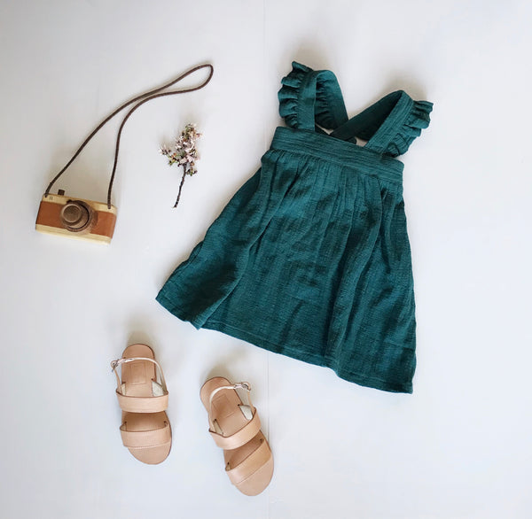 AUDREY RUFFLE DRESS