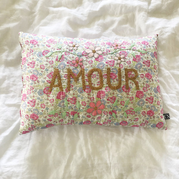 Liberty of London CSAO fair trade cushion