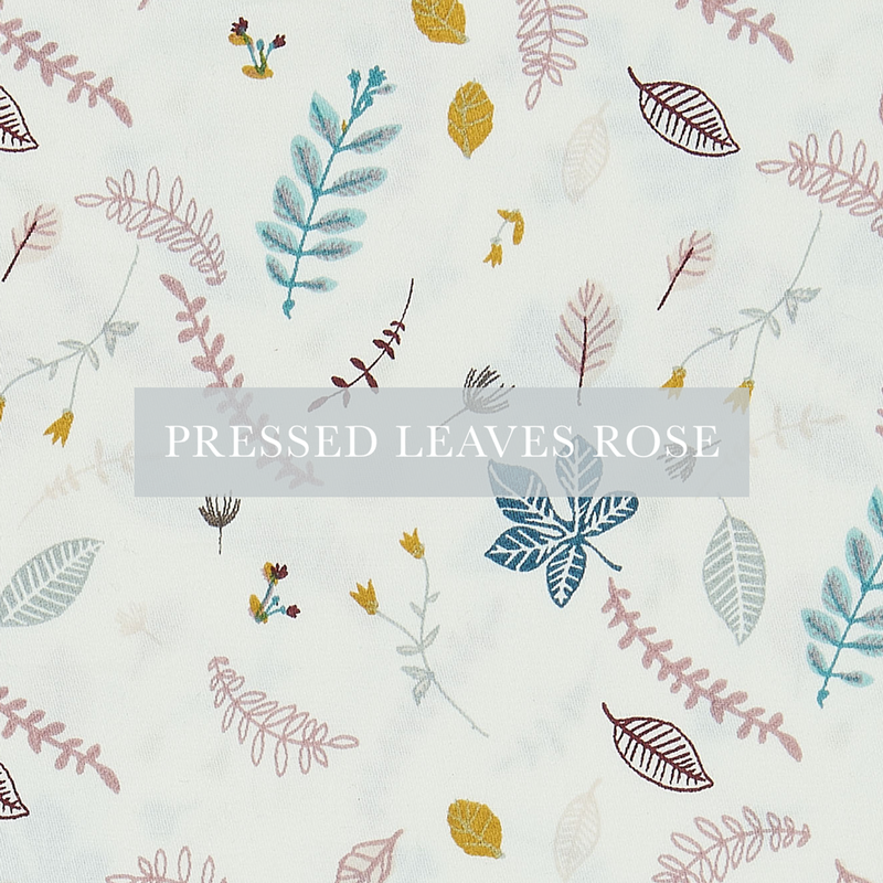 Pressed Leaves Rose